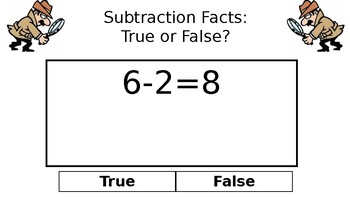 Subtraction Detectives