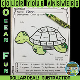 Color By Numbers Ocean Subtraction Dollar Deal