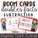 Subtraction Doubles Facts - Boom Cards