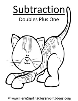 Subtraction Center Game A Quick and Easy to Prep Center Doubles Plus One