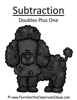 Subtraction Doubles Plus One Center Game A Quick and Easy to Prep Center