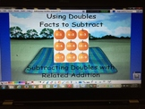 Subtraction Doubles with Related Addition Facts - ActivInspire Flipchart