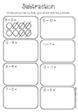 Subtraction - Draw to Solve