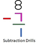 Subtraction Drills 0-12