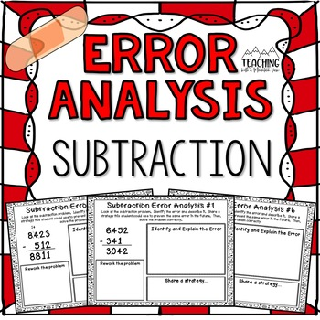 Subtraction Error Analysis with Regrouping  {Center, Enrichment, Assessment}