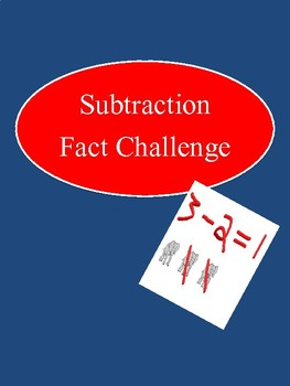 Subtraction Fact Challenge Fun