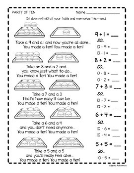 Subtraction Fact Fluency 0-20 Practice and Timed Tests