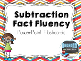 Subtraction Fact Fluency PowerPoint Flashcards