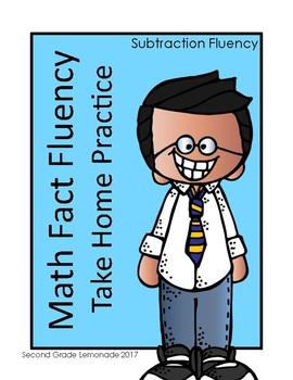 Subtraction Fact Fluency Take Home Activities