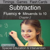 Subtraction Fact Fluency | Special Education Math | Intervention