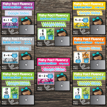 Google Classroom Digital Subtraction Fact Fluency