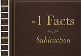 Subtraction Fact Keynote: Minus 1 Strategy