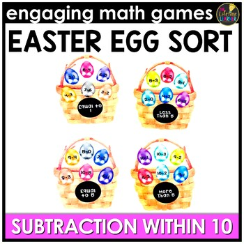 Subtraction Facts (0-10) Game