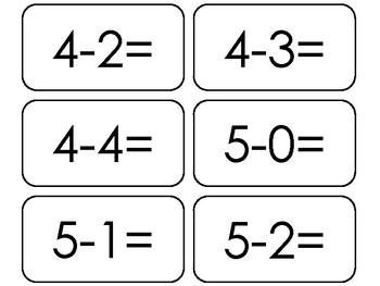 Subtraction Facts 0-12 Flashcards. 91 Printable Math Flashcards. Basic Math.