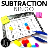 Subtraction Facts BINGO Sets 0-12  -13 Different Games-Separated by Number Sets