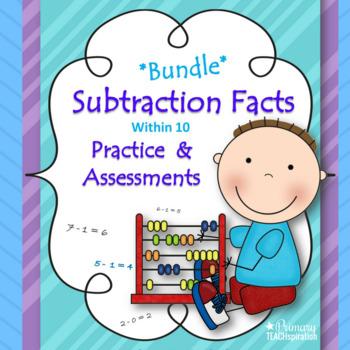 Subtraction Facts *Bundle* ~ Common Core Aligned