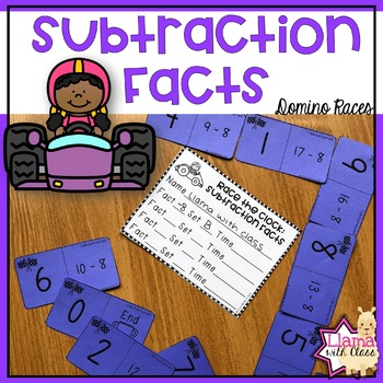 Subtraction Facts Domino Races