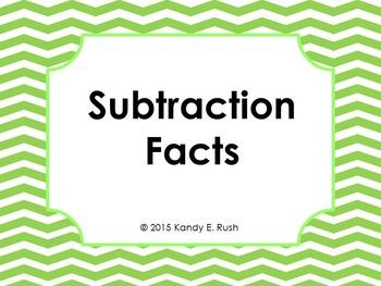 Subtraction Flash Card Slide Show