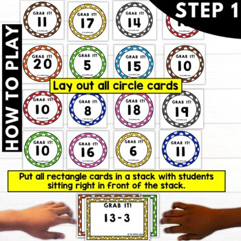 Subtraction Facts Game | Subtraction Fact Fluency