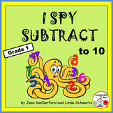 I SPY to 10 | Subtraction PUZZLES | Grade 1 | Practice - Review| Math Core Skill