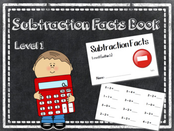 Subtraction Facts Level 1