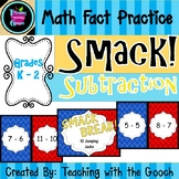 Math Fact Practice -Subtraction- SMACK! Game