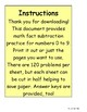Subtraction Facts Subtraction Practice 0 to 9