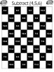 Subtraction Facts on a Checkerboard