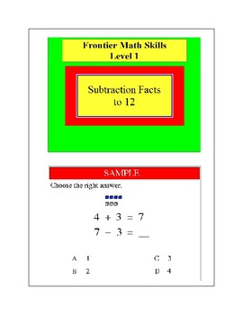 Subtraction Facts to 12