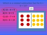 Subtraction Facts to 20 1st Grade Review Game