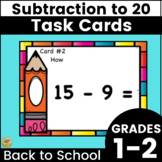 Subtraction Facts to 20 - Grades 1-2