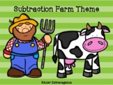 Subtraction Farm Theme