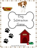 Subtraction File Folder Game (DOG THEME)