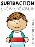 Subtraction File Folders