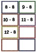 Subtraction Flash Cards 0's - 12's