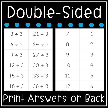 graphic relating to Printable Multiplication Flashcards With Answers on Back titled Department Flash Playing cards - Math Information and facts 0-12 Flashcards - Printable