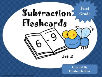 Subtraction Flashcards- (6-9)