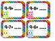 Subtraction Flashcards for Numbers 0-9