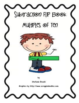 Subtraction Flip Book