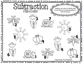 Subtraction Flip and Color