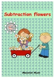 Subtraction Flowers