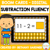 Subtraction Fluency - Boom Cards - Digital - Distance Learning