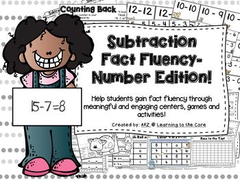 Subtraction Fluency Centers