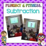 Subtraction Math Facts Fluency & Fitness® Brain Breaks