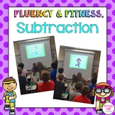 Subtraction Math Facts Fluency & Fitness Bundle