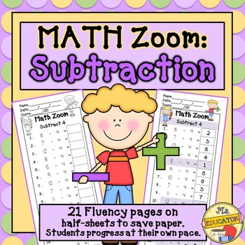 Subtraction Fact Fluency*