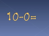 Subtraction Fluency Powerpoint