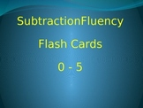 Subtraction Fluency to 5