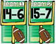 Subtraction Football