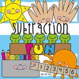 Subtraction Printable Interactive Activities